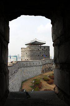 Suwon, Mars, Autumn, Castle, High