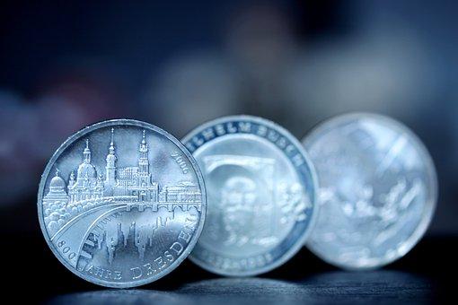 Coin, Dresden, Anniversary, 800 Years, History