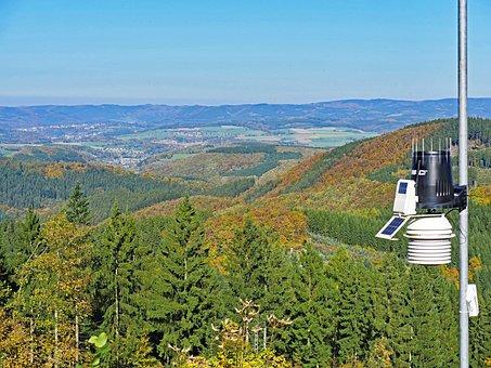 Sauerland, Panorama, October, Landscape, Distant View