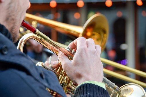 Music, Trumpet, Street Musicians, Musical Instrument