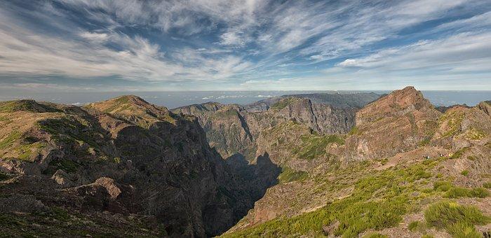Pico Do Ariero, Madeira, Mountain