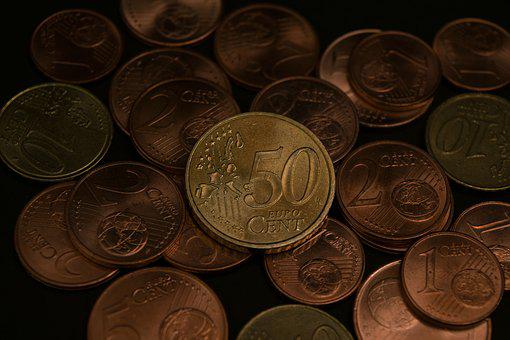 Money, Euro, Currency, Parts, Cents, Image, Picture