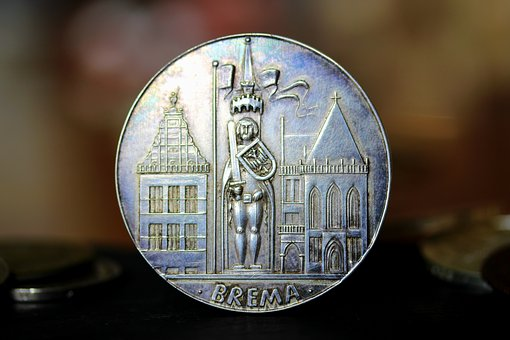 Bremen, Coin, Roland, Landmark, Places Of Interest