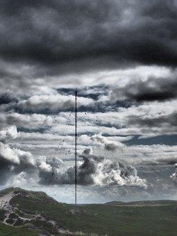 Transmission Tower, Communication, Radio Tower