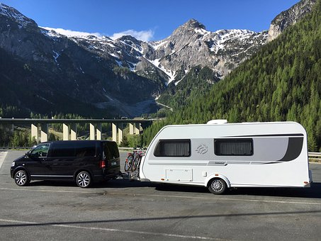 Auto, Transport System, Camper, Mountain, Travel