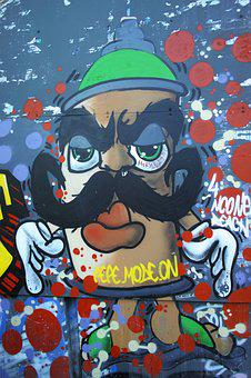 Graffiti, Painted, Pictures, Artist, Travel