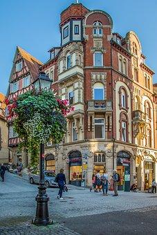 Tübingen, University City, Old Town, Downtown