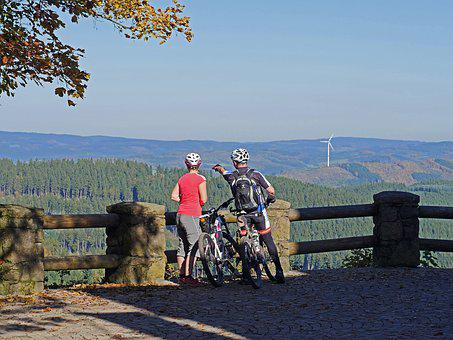 Sauerland, Viewpoint, High Done, Panorama