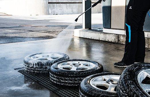 Mature, Wash, Lance Wash, Auto, Tyres, Pkw, Rim