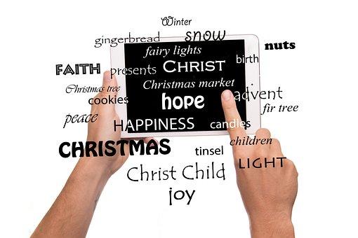 Christmas, Words, Advent, Joy, Festival, Embassy