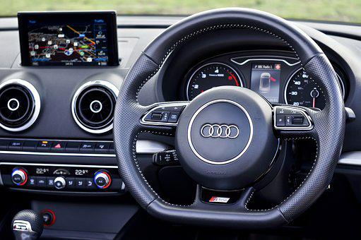 Audi, Car, Transportation, Interior, Vehicle