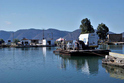 Ferry, Butrint, Albania, Travel, Mediterranean