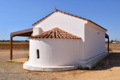 Cyprus, Avgorou, Ayios Andreas, Chapel, Orthodox