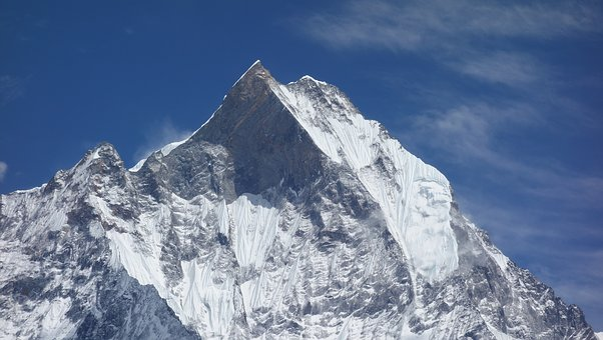 Fishtail Peak, Nepal, Snow Mountain