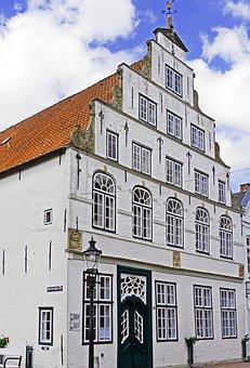 Gable House, Historically, Brick, Clinker, Limed
