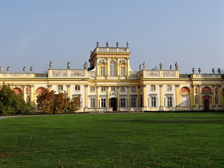 The Palace In Wilanow, The Palace, Monument, King