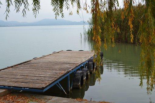 Autumn, Lakeside, Plot, Waterfront, Lake, Nature, Water