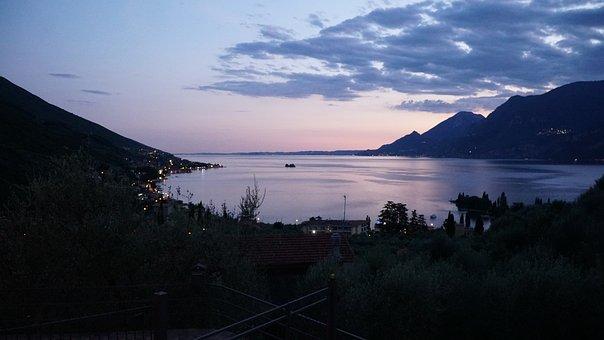 Evening, Landscape, Sunset, Dusk, Abendstimmung, Nature