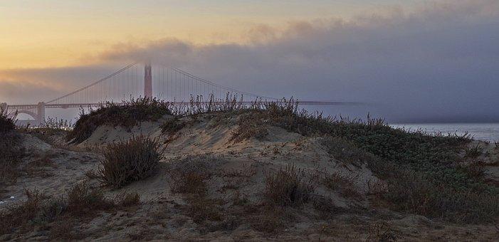 Clouds, Fog, Sky, Sun, Landscape, Rising Fog, Nature
