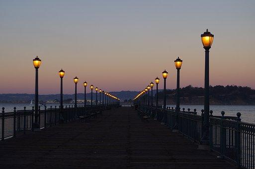 Bridge, Lanterns, Architecture, Lamp, City