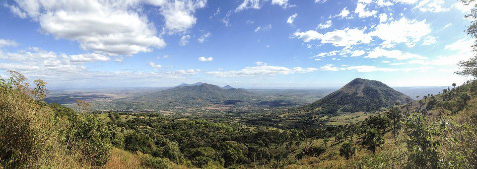 Panorama, Landscape, Nature, Mountains, Volcano, Hike
