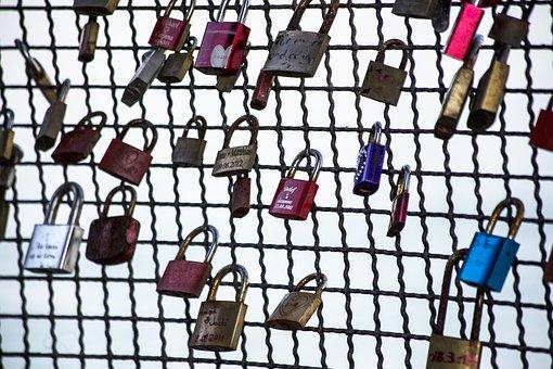 Love, Love Locks, Padlock, Castles, Padlocks