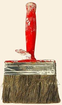 Brush, Flat Brush, Color Order, Delete, Painter Brush