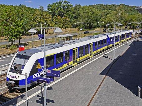 Diesel Railcar, Private Railway, Erixx