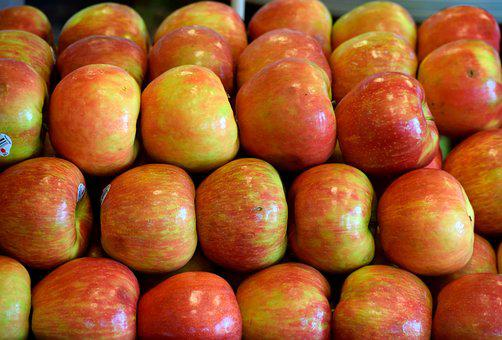 Red Apples, Fruit, Sweet, Market, For Sale, Ripe, Red