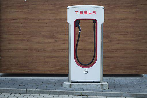 Tesla, Electric, Charging Station, Loading Point