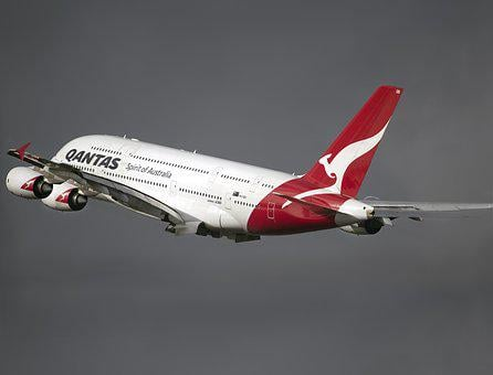 Qantas, Airline, Airplane, Sky, Trip, Aviation, Plane