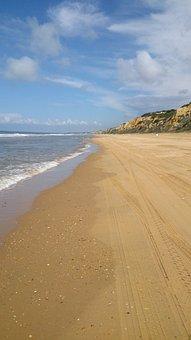 Beach, Doñana, Sand