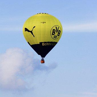 Hot Air Balloon, Bvb, Borussia Dortmund, Real Love
