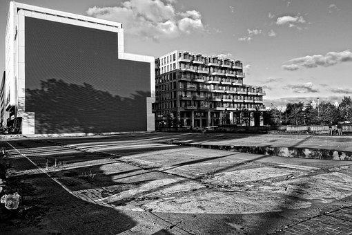 Buildings, Cityscape, Non-use, Wasteland, Urban