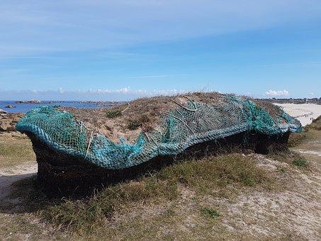 Brittany, Coast Littoral Breton, Sea