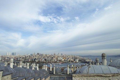 Istanbul, Turkey, Landscape, Estuary, Fatih, Date