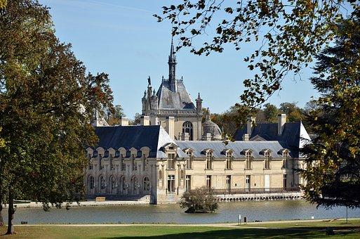 France, Oise, Chantilly, Castle, Castle Of Chantilly
