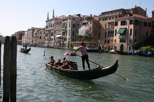 Venice, Venezia, Historically, Italy, Water, Gondola