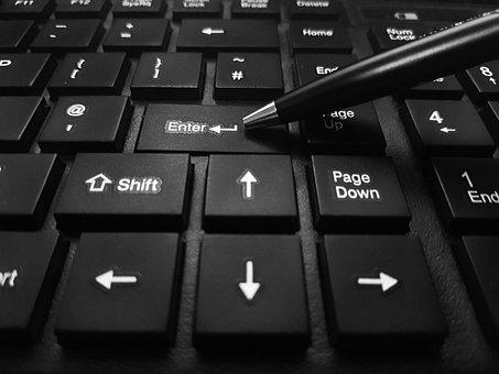 Enter, Keyboard, Black, Button, Entrance, Technology