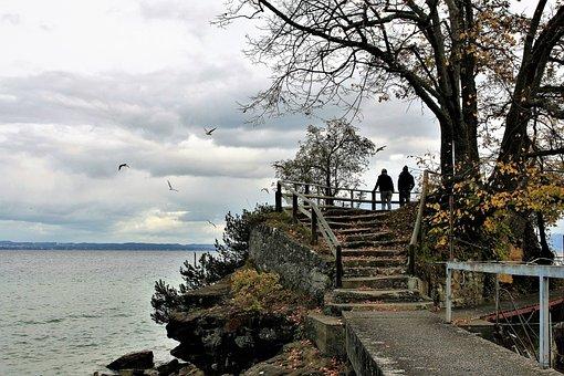 Stairs, Para, Lake, The Stones, Mood, Bridge