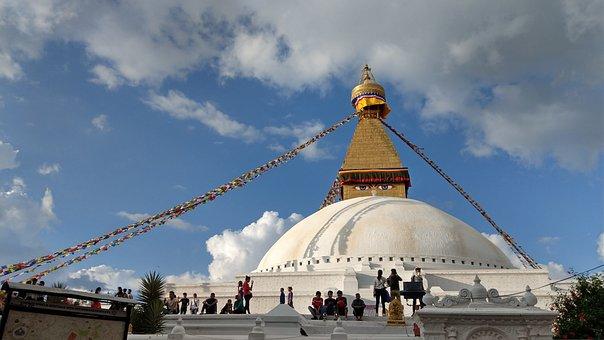 Bodnath Stupa, Nepal, Buddhism