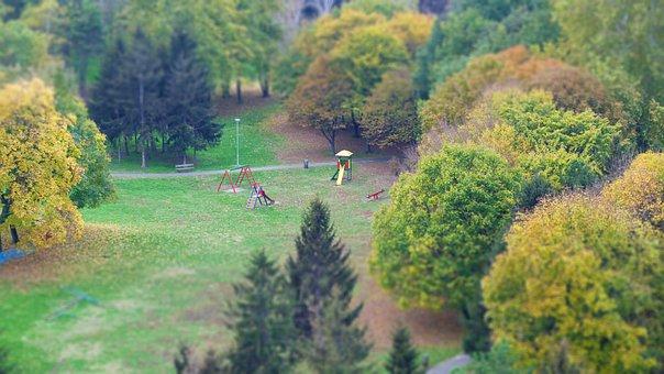 Park, Playground, Children, Outdoor, Slide, Activity