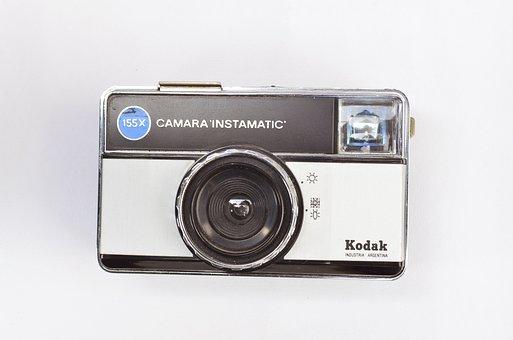 Instamatic, Kodak, Vintage, Retro, Photographer