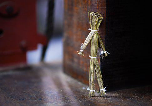 Straw, Puppet, Doll, Decoration, Decorative, Culture