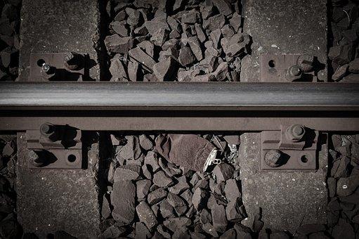 Rail, Can, Tie, Ballast Of Track, Train, Travel