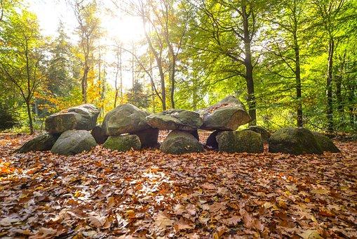 Boulders, Rocks, Nature, Landscape, Sky, Scene