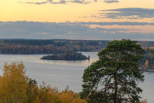 Sweden, Stockholm, Photo, The Coast, Island, Scenery