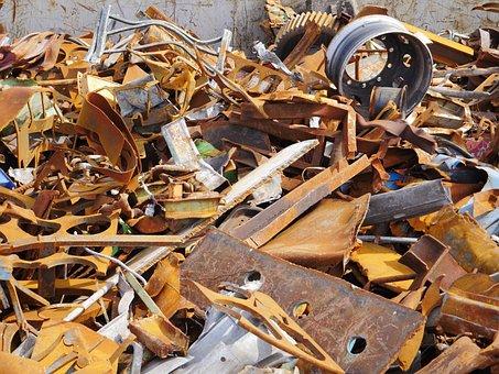 Scrap, Scrap Metal, Recycling, Rust, Corrosion, Sheets