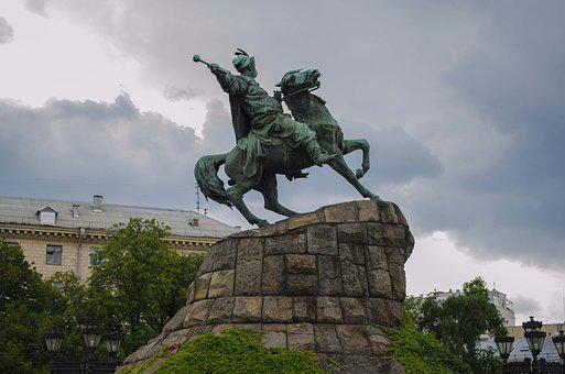 Monument, Rider, Bronze, Sculpture, Horse