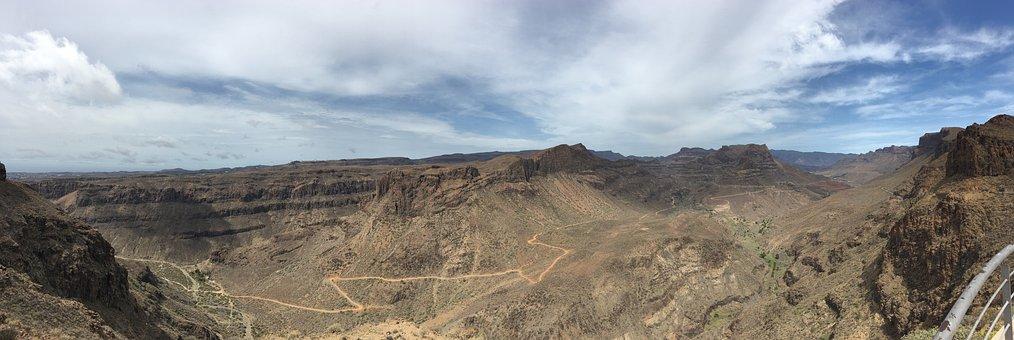 Landscape, Gran Canaria, Mountain, Spain